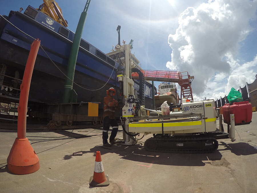 Edge Drilling Specialists in Geotechnical Drilling
