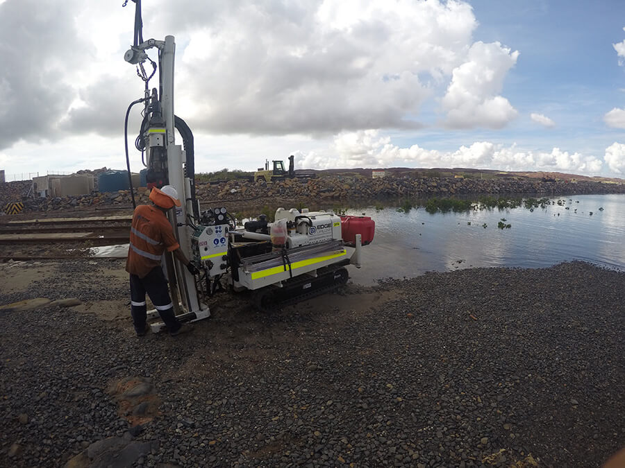 Edge Drilling Geotechnical Services Perth